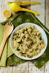 70+ Best Zucchini Recipes (Orzo Pasta Salad Recipe) | SnappyGourmet.com