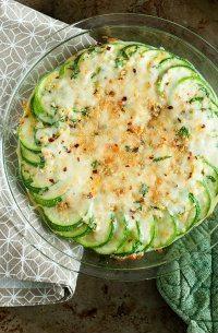70+ Best Zucchini Recipes (Zucchini Au Gratin Casserole Recipe)   SnappyGourmet.com