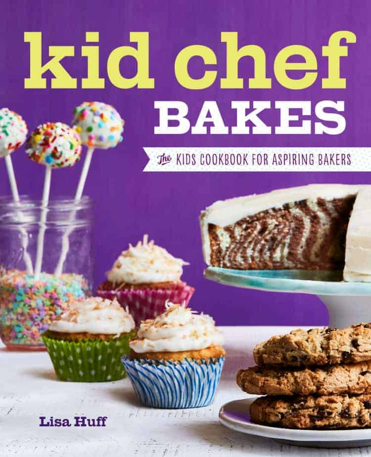 Kid Chef Bakes - a fun cookbook now available for kids and all ages with easy recipes, tips on tools & supplies, baking tutorials, and lots of cake, cookies, pies, bread, & more recipes! SnappyGourmet.com