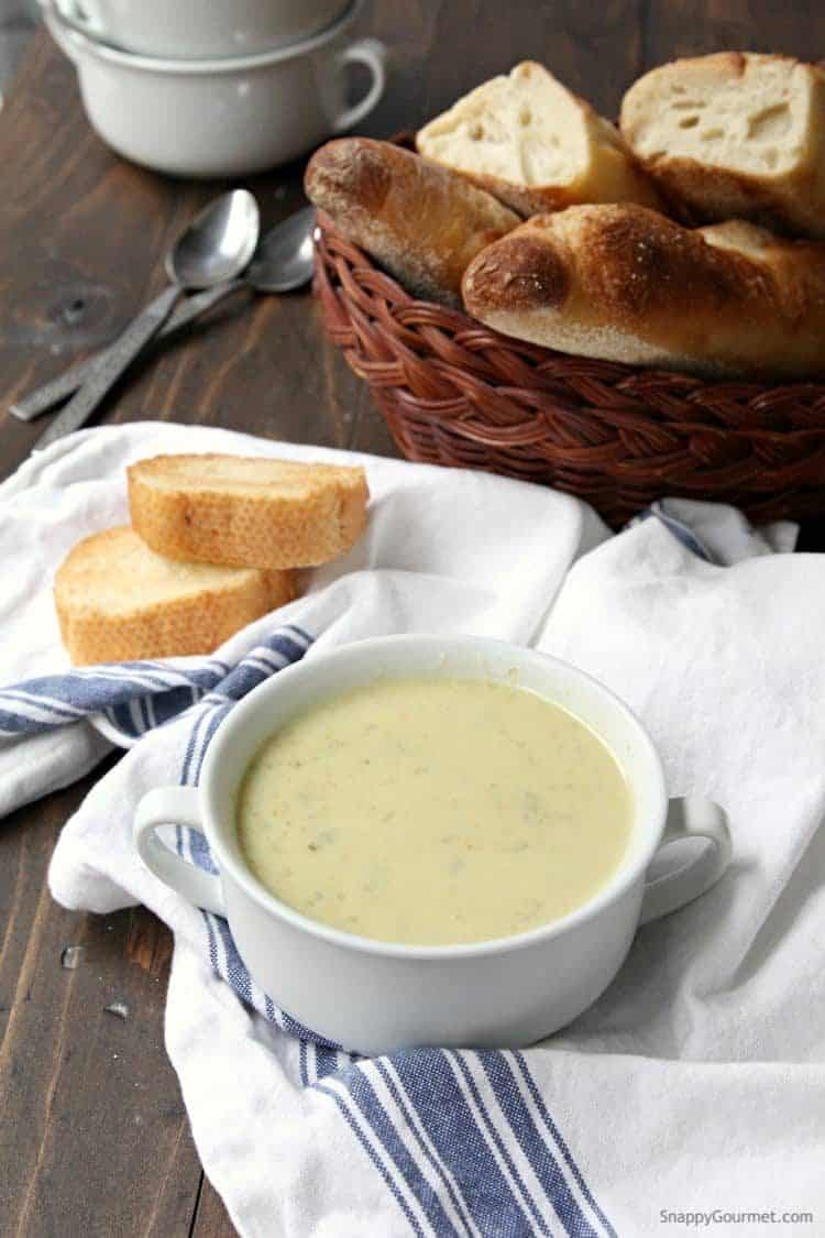 Brussels Sprout Soup - easy brussels sprout soup recipe | SnappyGourmet.com