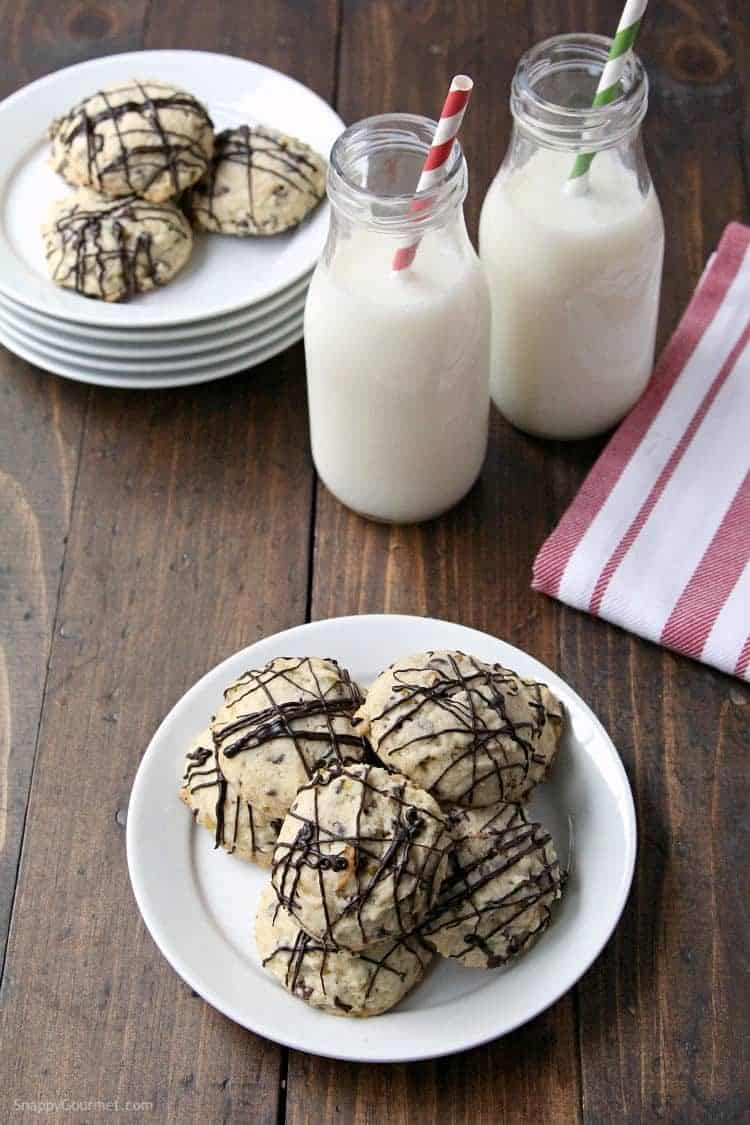 Cannoli Cookies Recipe - a fun twist for easy Italian Cookies! SnappyGourmet.com