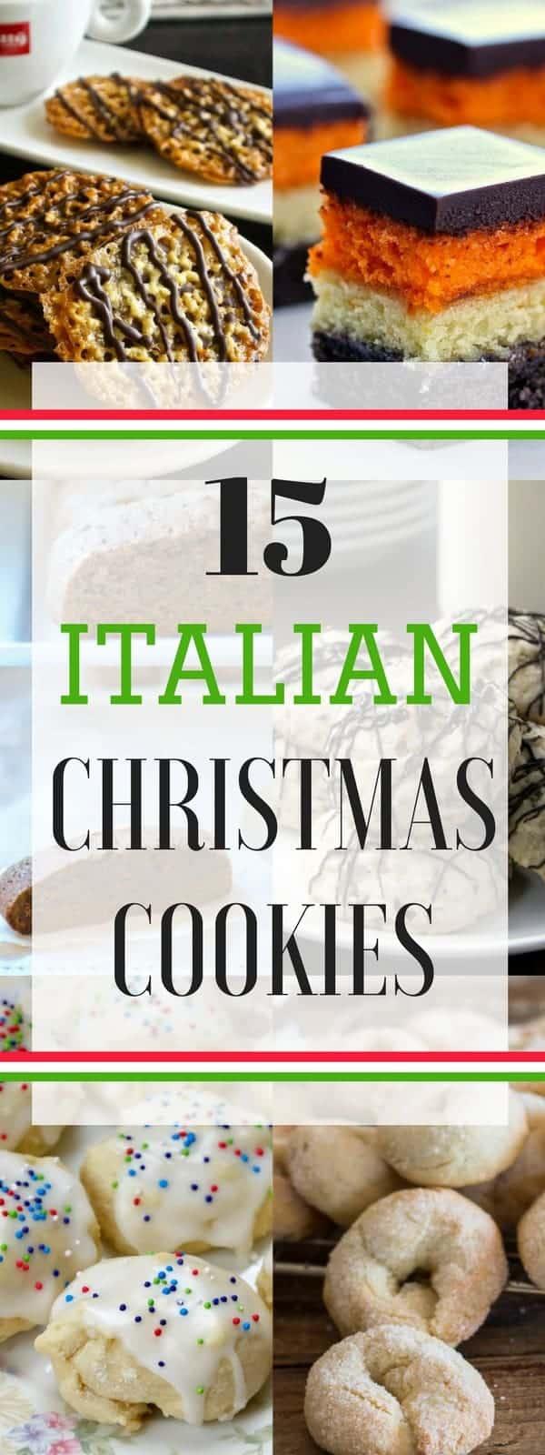 Italian Christmas Cookies - Snappy Gourmet