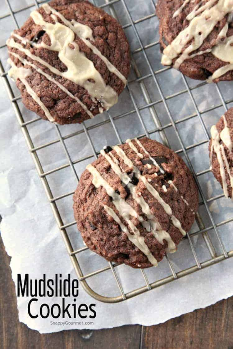 Mudslide Cookies Recipe