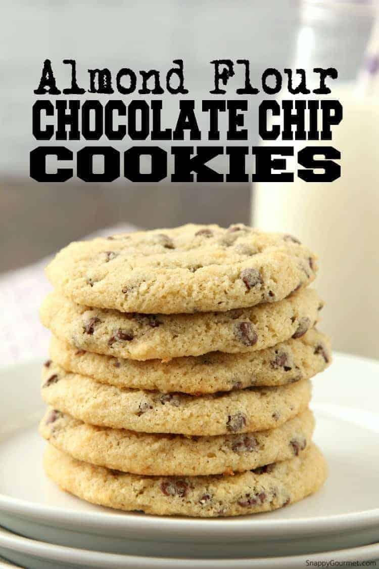 Almond Flour Chocolate Chip Cookies Recipe Snappy Gourmet