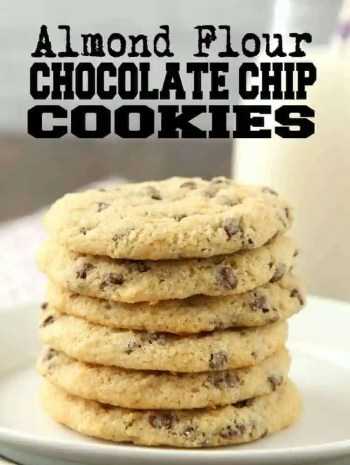 Almond Flour Chocolate Chip Cookies Recipe