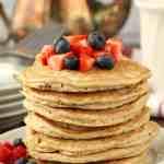 Almond Flour Pancakes Recipe - easy gluten free pancake recipe with almond flour