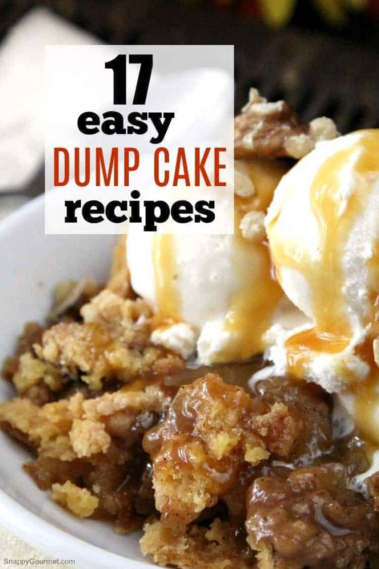 17 Easy Dump Cake Recipes