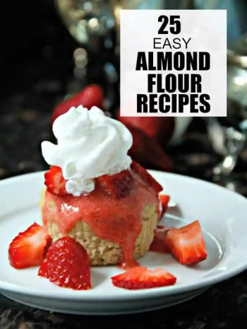 Almond Flour Recipes – 25 Easy Almond Flour Recipes