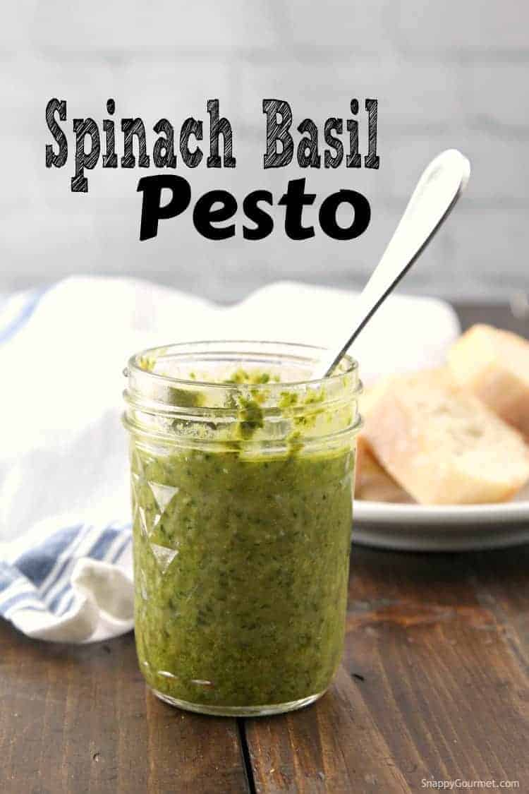 how to make pesto with fresh basil