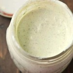Homemade Ranch Dressing - how to make ranch dressing at home that is better than anything in a bottle