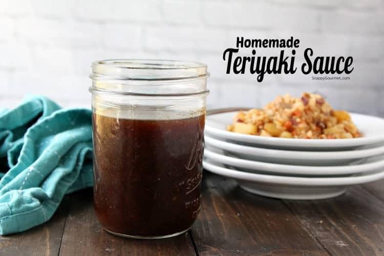 Teriyaki Sauce - easy yummy teriyaki sauce recipe