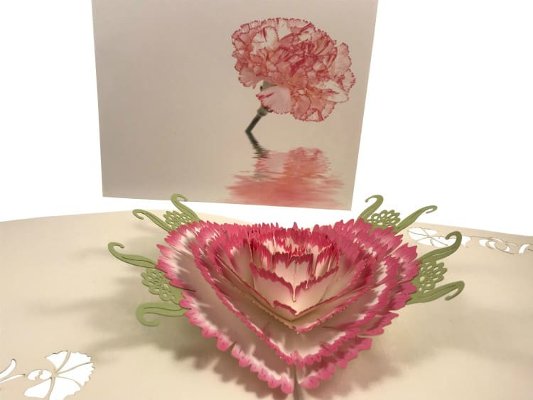 Mother's Day Gift Ideas: flower pop up card