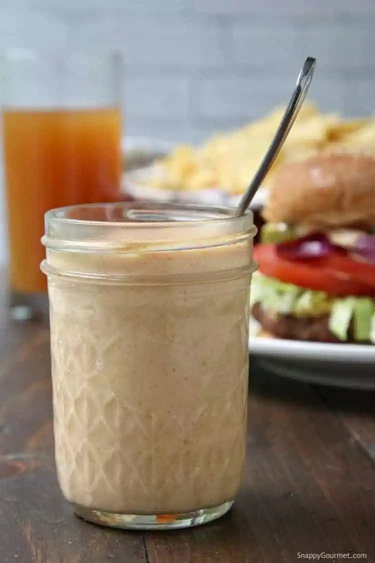 Boom Sauce Recipe - easy homemade sauce with mayonnaise, ketchup, and spices