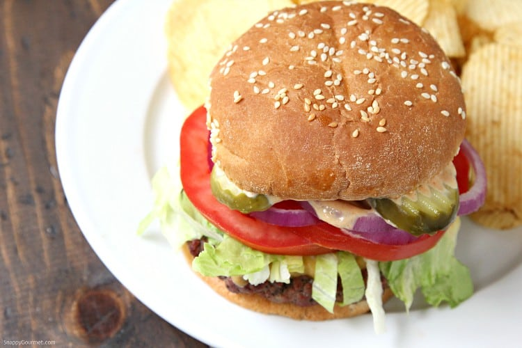 Killer Burger Recipe - The best All American Burger with secret sauce