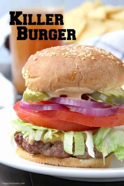 Killer Burger Recipe - How to make an All American Burger