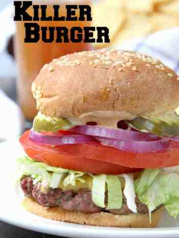 Killer Burger Recipe - How to make an All American Burger