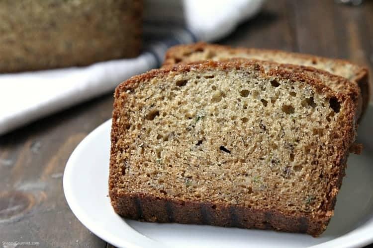 Banana Zucchini Bread - easy from scratch quick bread recipe