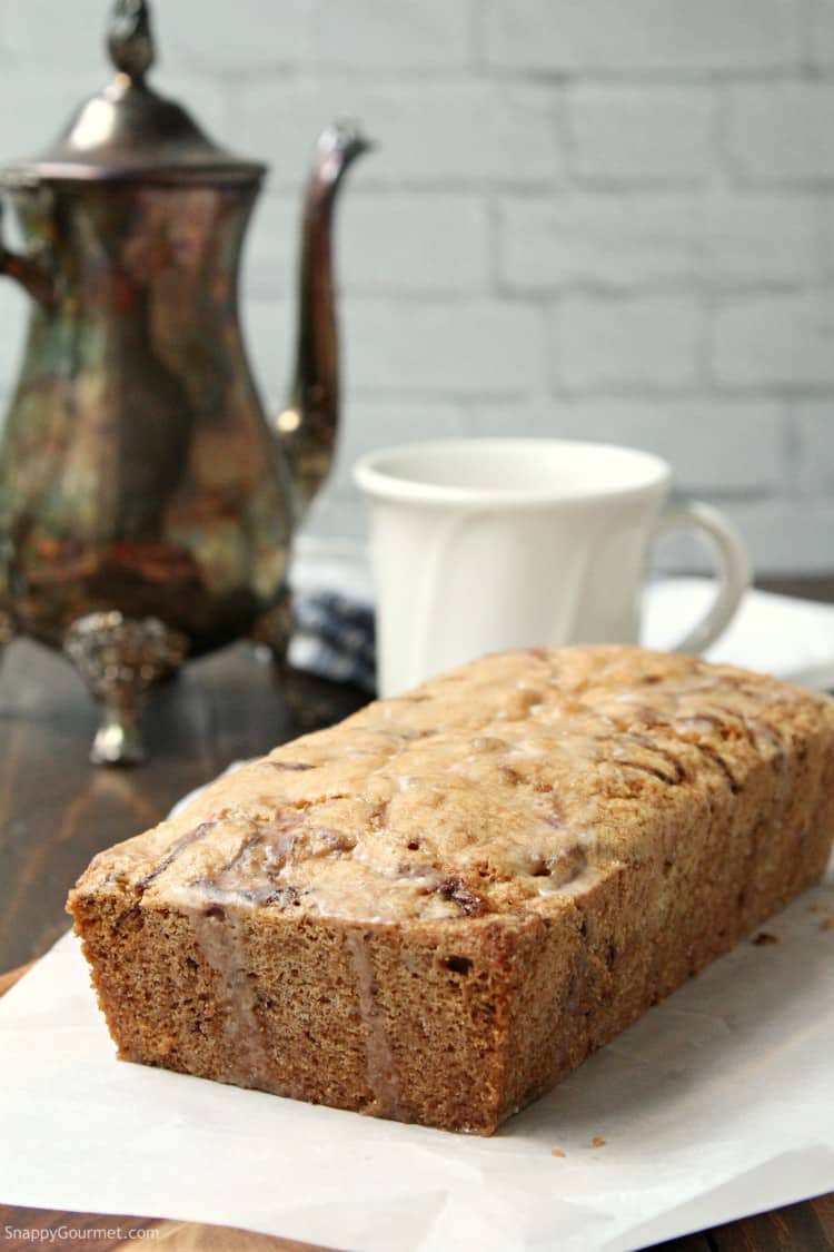 Lemon Zucchini Bread - moist zucchini bread from scratch