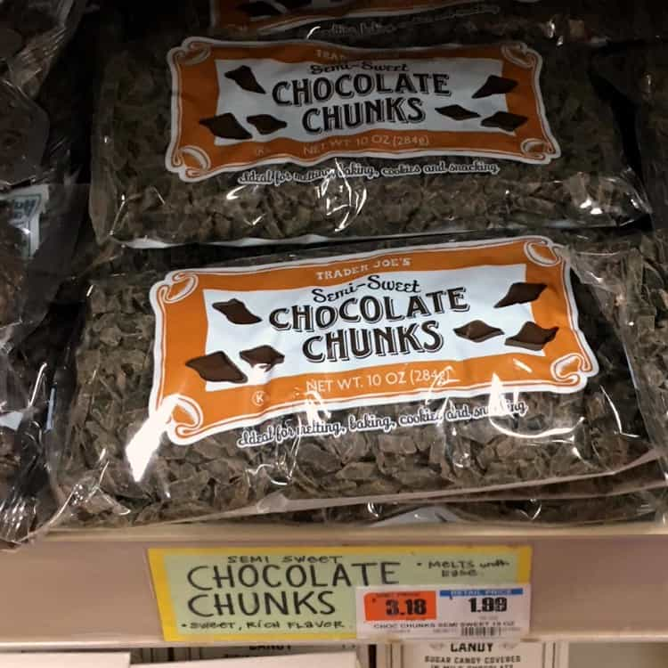 Best Trader Joe's Products (chocolate chips)