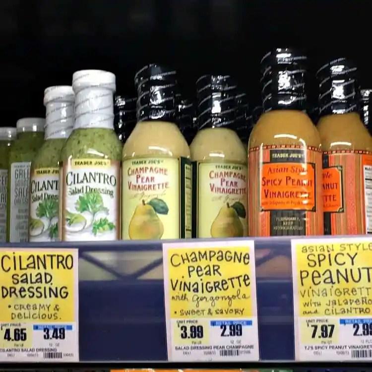 Best Trader Joe's Products (salad dressings)