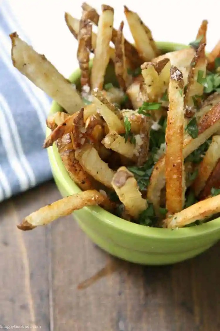 Truffle Fries - how to make truffle fries at home in the oven