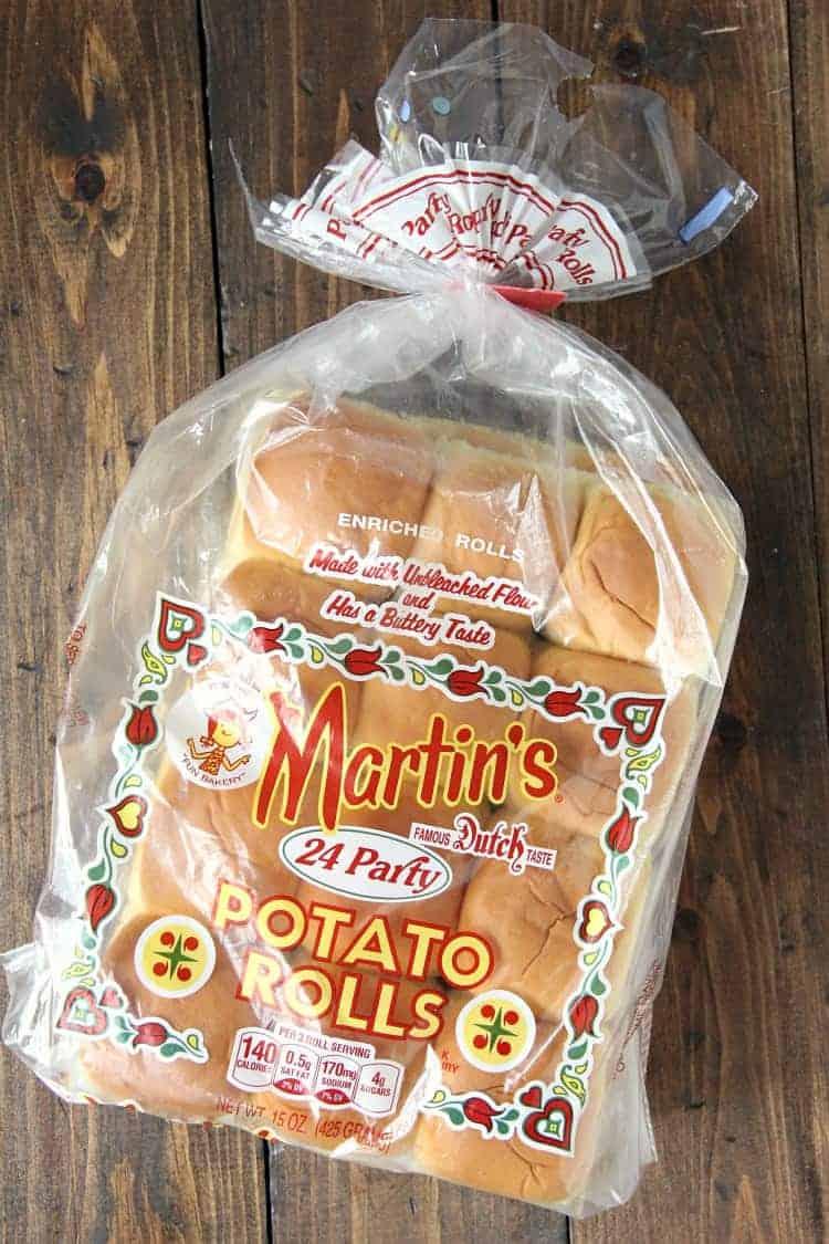 Martin's Party Potato Rolls