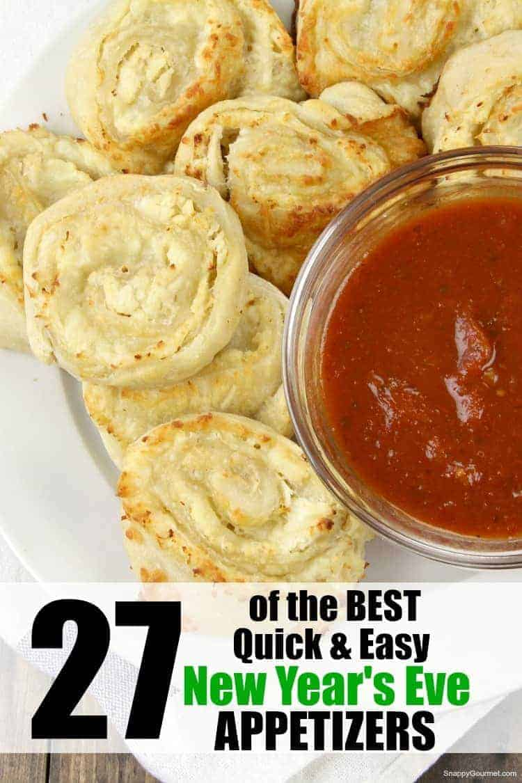 Chicken Pinwheels, New Year's Eve appetizers
