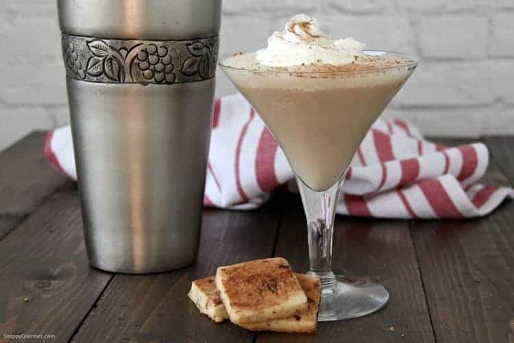 Tiramisu Martini in glass