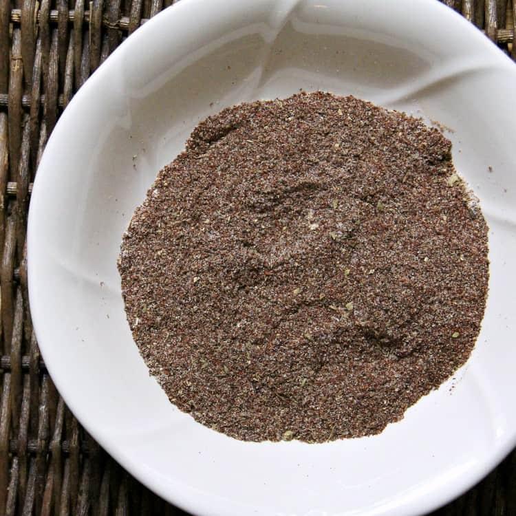 chili seasoning ingredients mixed in bowl