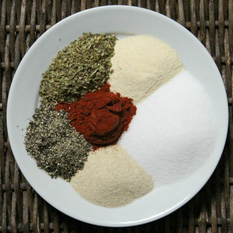ingredients for steak seasoning