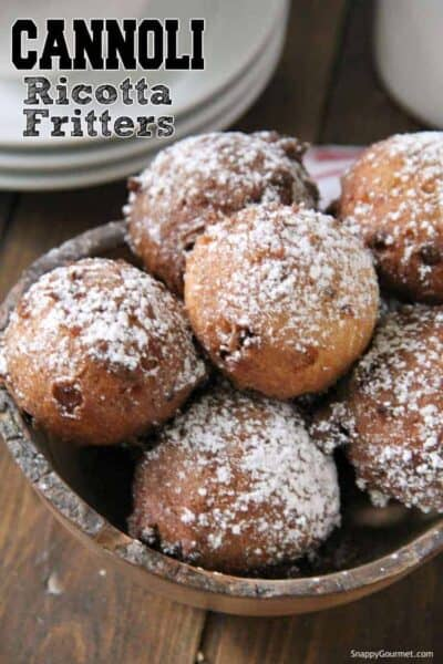 fritter donuts in bowl