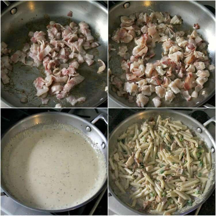 steps to making pasta recipe