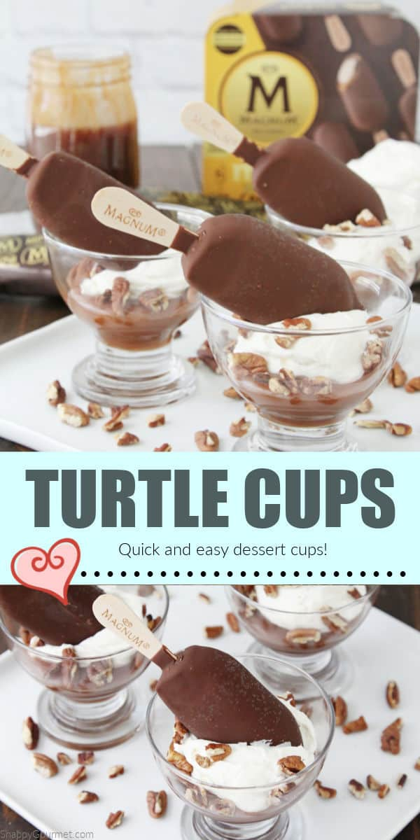 collage of Turtle Cups