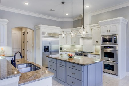 10 Kitchen Islands We Love    Snappy Kitchens Not only do we have a contrasting color on the island  but we also have a  contrasting color on the countertop  If you look closely  you will also see  the