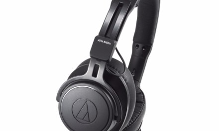 Audio-Technica Displays ATH-M60x Pro On-Ear Headphones
