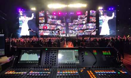 Working Musically To Create Big Sound, Scottie Baldwin Uses Yamaha CL5 On Wang Leehom Tour