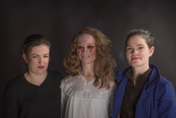 "A studio shoot showcasing an artistic co-operative of Photographer, Screen Writer, Actor/Actresses and Makeup Artists for the purposes of a pre-production shoot of ""Living Space"" written by Steven Spiel. Images to be used with the intention of showcasing individual talents and contributions towrads the interpretation and realisation of what ""Living Space"" might actually be when it moves to a funded production."