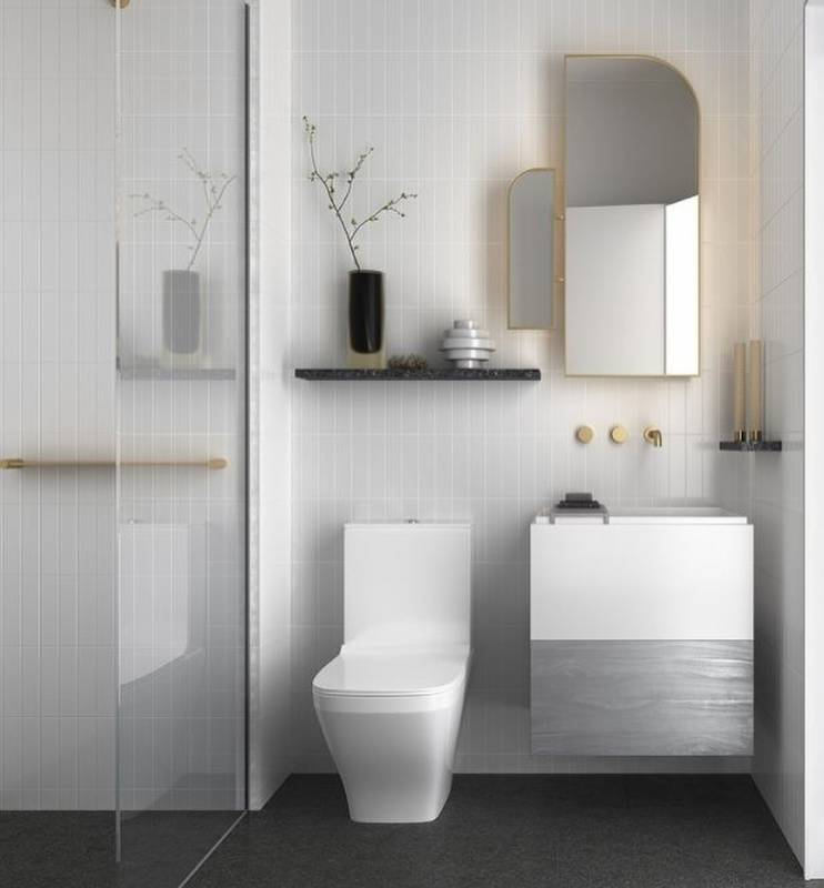 Minimalist Bathroom Design Plan