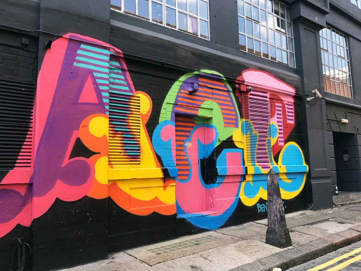 shoreditch colour walk
