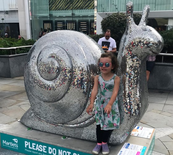 snails trail brighton churchill sq
