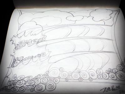 sketch by desiree east