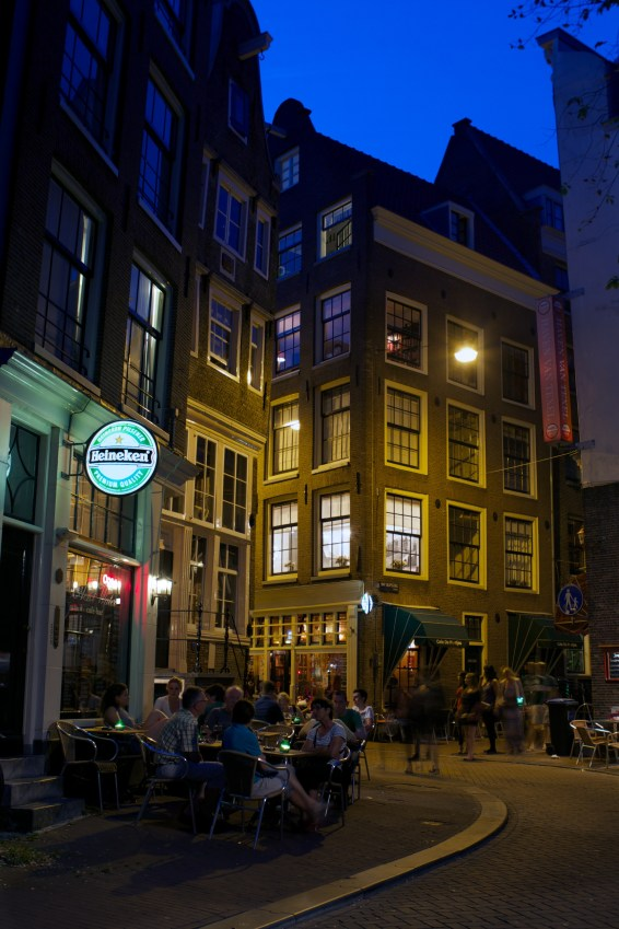 Night: Bar corner
