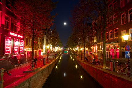 The heart of the red light district