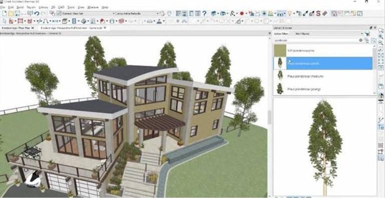 aplikasi desain rumah pc Chief Architect Premier