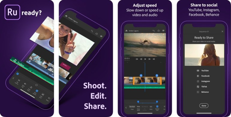 aplikasi edit video iphone adobe premiere rush
