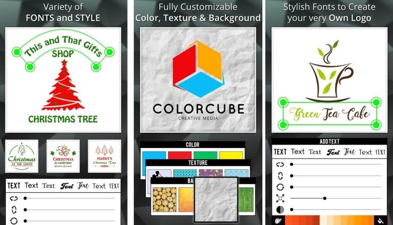 aplikasi pembuat logo di android Logo Maker iris studio