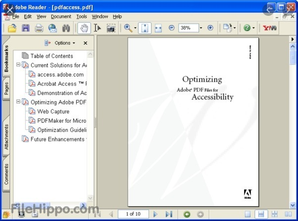 software adobe reader PDF free