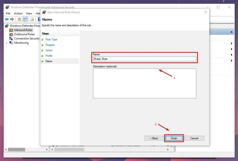 cara blok aplikasi dengan firewall windows 7