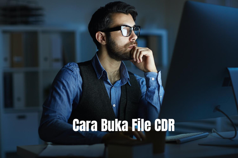 cara buka file cdr