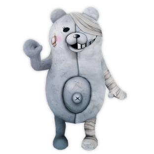 Shirokuma - A well-regarded member of the Resistance who's idolized by the adults, this pure white Monokuma is stationed at the adults' secret base.